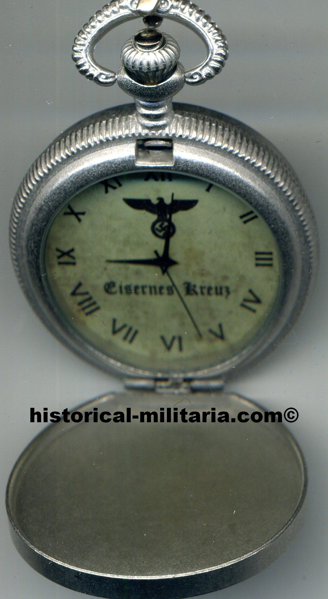 taschenuhr eisernes kreuz orologio da tasca croce di