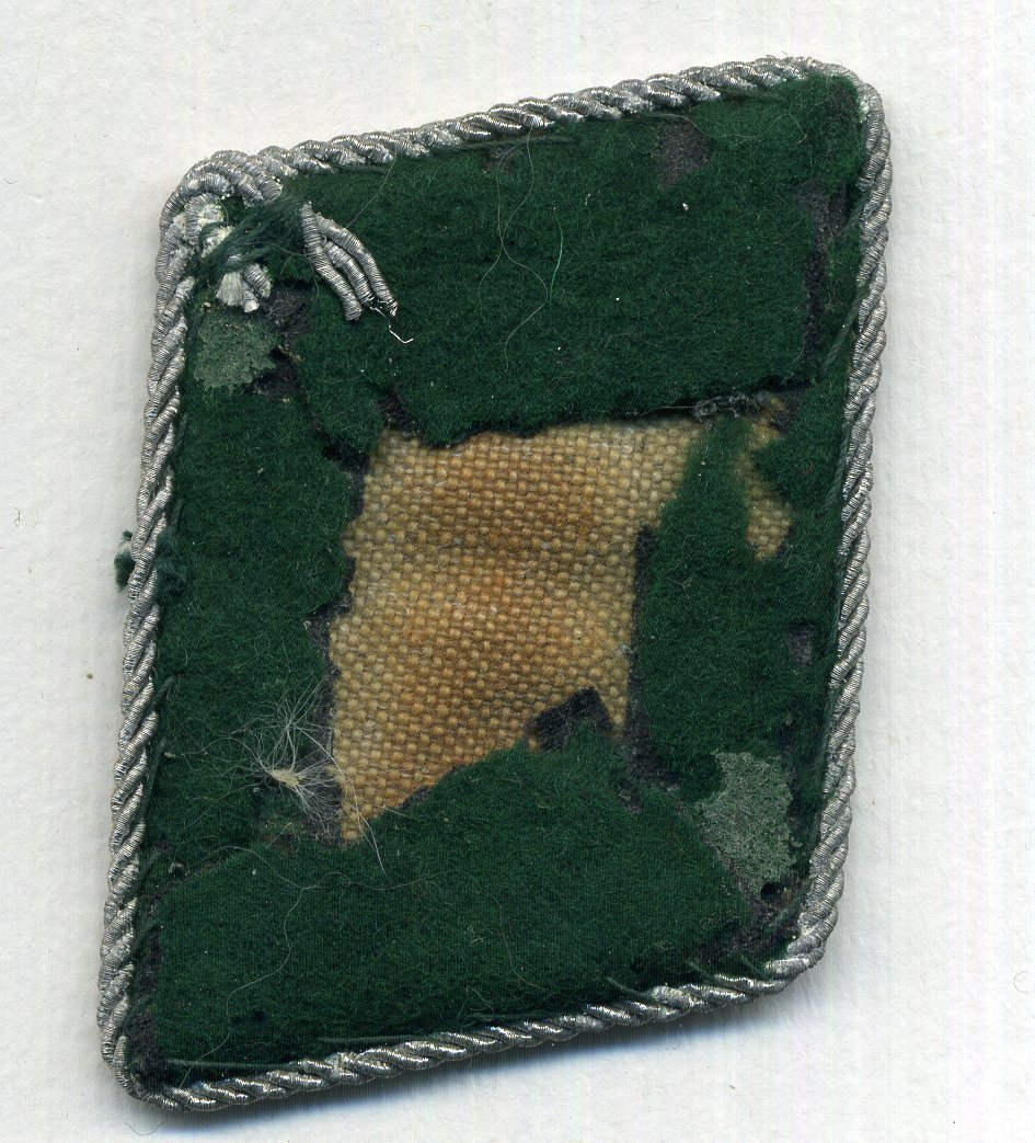ORIGINAL Luftwaffe Beamter Schulterklappen und Einzel Kragenspiegel - Original Luftwaffe Administrative Official shoulder boards and single collar tab - Luftwaffe Amministrazione spalline e una mostrina originale