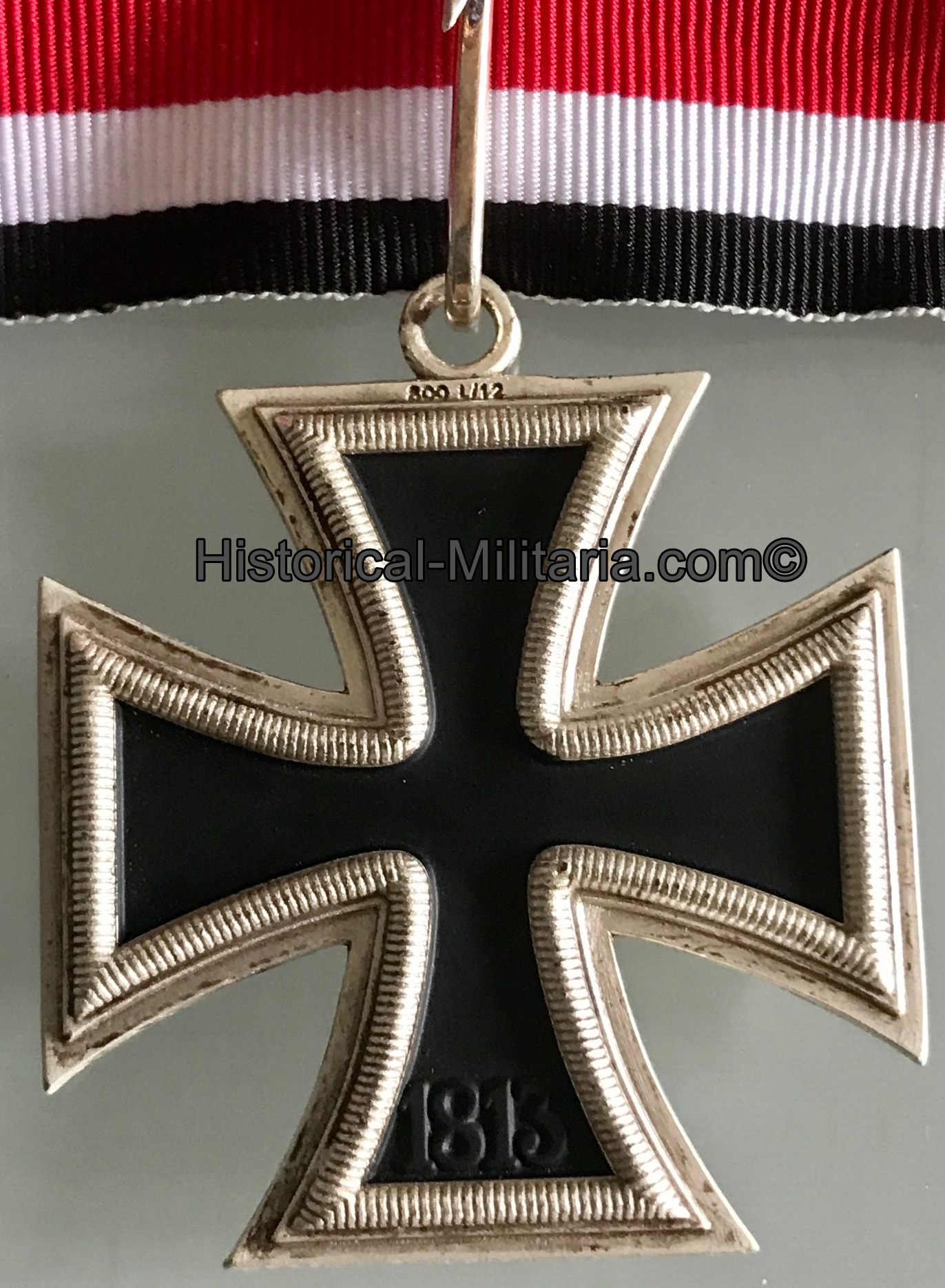 Ritterkreuz des Eisernen Kreuzes 1939 mit silbernem Eichenlaub, Schwertern und Brillanten - Knights Cross of the Iron Cross with Oakleaves, Swords + Diamonds Medal - La croce di cavaliere con fronde di quercia in argento, spade e diamanti